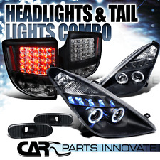 00-05 Celica Halo Projector Headlights+Black Side Markers+LED Tail Lamps