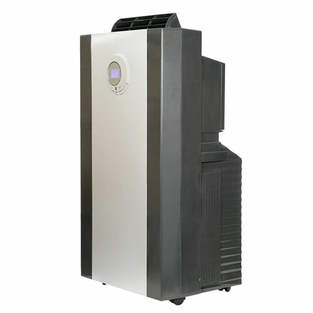 Whynter - 14,000 Btu Portable Air Conditioner - Platinum/bla