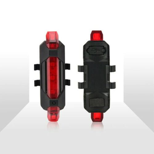 Bike Taillight USB Charge Bicycle Rear Tail LED Light Waterproof Riding Lamp Mou