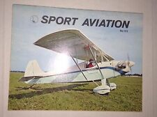 Sport Aviation Magazine Bede Bd-4 Forum May 1970 010417RH