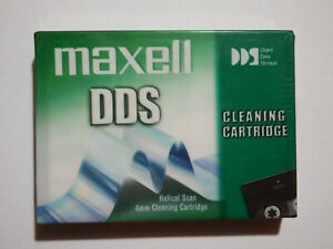 Maxell-DDS-DAT-Cleaning-Tape-Cartridge-4mm-NEW