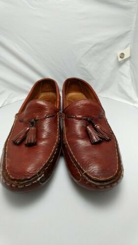 bragano mens shoes Crafted in Italy size 8.5 Brown