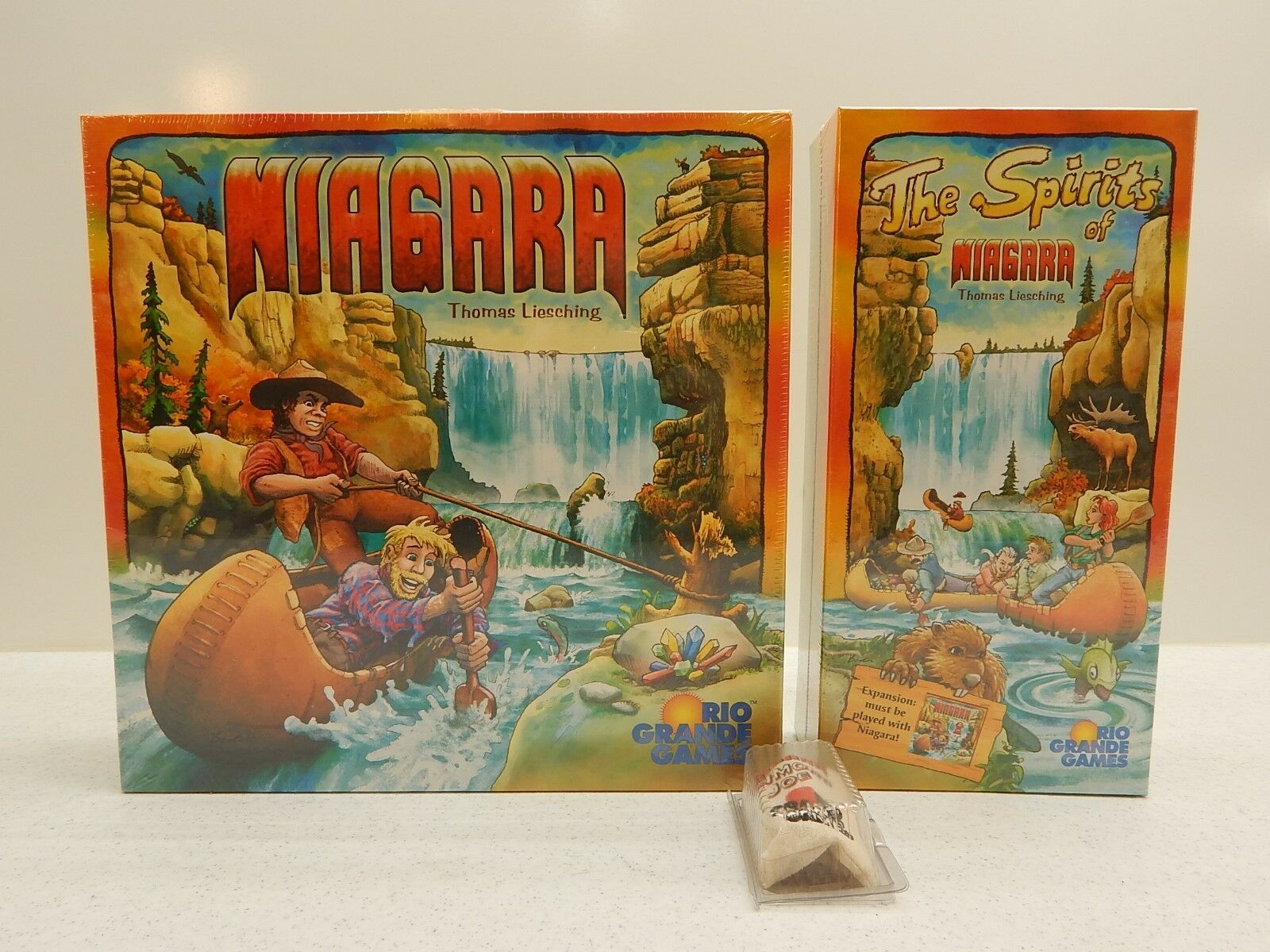 Niagara with all Expansions OOP game NEW MIB Spiel des Jahres Winner Free Ship