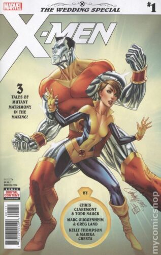 X-Men The Wedding Special #1 NM cover by Campbell 2018