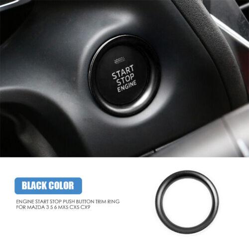 Auto Inner Console Start Stop Engine Push Button Cover Trim For Mazda 3 5 6 CX-5