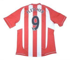 Sunderland 2012-13 ORIGINALE Maglietta Fletcher #9 (eccellente) XL soccer jersey
