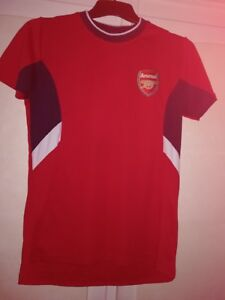 buy online 146df 386ee Details about Children's /kids Arsenal football shirt top XLB