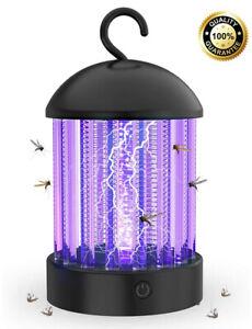 Lampada Zanzara Elettrica Luce Uv Attira Zapper Per Zanzare A Scossa Elettrica Ebay