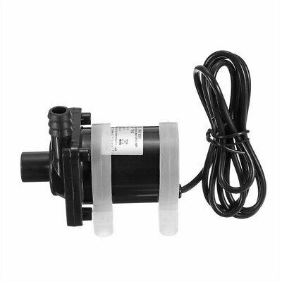 DC 12V 1//2/'/' 480L//H Black Brushless Water Pump Solar Power Hot Circulation Motor