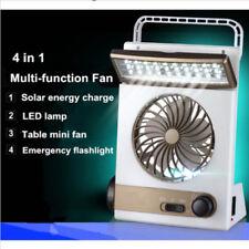 Speed Fan Portable solar 220V electric charging fan 1200mA battery rechargeable