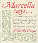 Marcella Says by Marcella Hazan (Hardback, 2004)