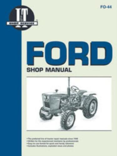 Ford Tractor Shop Manual Diesel 1100//10 1200//10 1300//10 1500//10 1700//10 1900//10