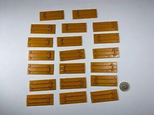 X14-ho-1-87-20-unid-Herpa-albedo-placas-tablillas-maleta-la-placa-base-naranja
