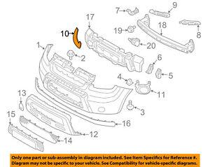 Genuine Kia 86564-2K050 Bumper Molding