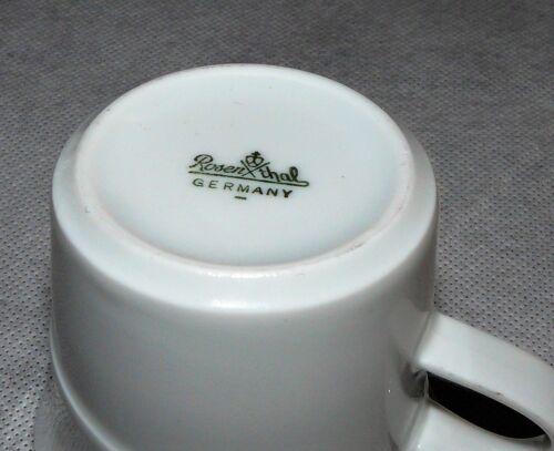 Rosenthal Studio Line Avenue weiß Espressotasse Mokka 6,5 cm Dm 5,6 cm h.