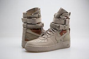864024 202 1 Hombres Nike Air Force 1 202 Af1 Sf Campo Especial Desert Camo Tan 2553df