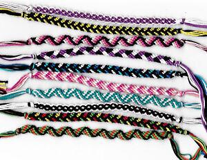 lot de 10 bracelet bresilien