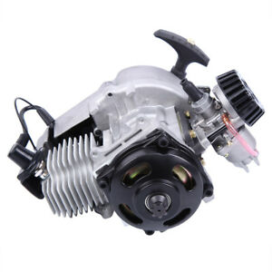 Pull Start Motor Engine 49cc 2-Stroke Fits Mini Pocket Quad Scooter ATV Buggy 718174116600