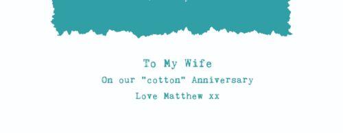 Nat King Cole /'L-O-V-E/' Personalised Song Lyrics Cushion 2nd Anniversary Gift