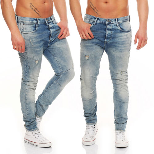 Jack /& Jones-Luke ECHO-jos249-Anti Fit-Jeans Uomo Pantaloni-Nuovo