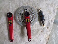 McMAHON 175 MOUNTAIN BIKE CRANK SET 24 34 46 MTB TITANIUM BOTTOM BRACKET