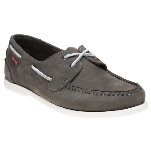 New Mens Chatham Marine Grey Galley Ii Nubuck Shoes Boat Lace Up