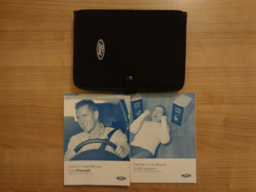 Ford Transit Owners Handbook//Manual and Wallet 06-13