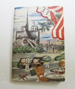 Rare french tourism booklet 1938 France for Americans cover Dignimont wonderful