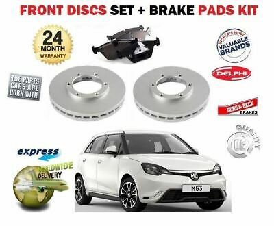 FOR MG MG3 3 1 5 109BHP 1498cc 2011->NEW FRONT BRAKE DISCS SET + DISC PADS  KIT | eBay