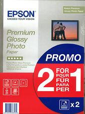 30 FG. CARTA FOTOGRAFICA EPSON PREMIUM GLOSSY PHOTO PAPER S042179 255g - PROMO!!
