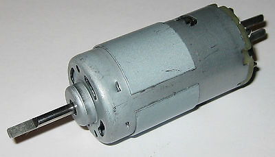 High Speed and Torque Long 13.5 V DC Motor - 18000 RPM - 90 Watt - 3.17mm Shaft