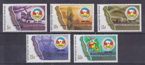 Burundi-Sc-643-647-MNH-1986-CEPGI-10th-Anniversary-cplt-set-MAP