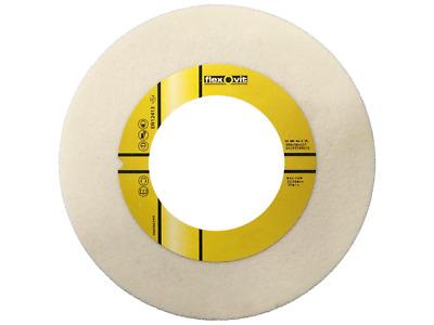 1 Stück Flexovit Schleifscheibe 200 x 32 mm Korn 80 Edelkorund weiß