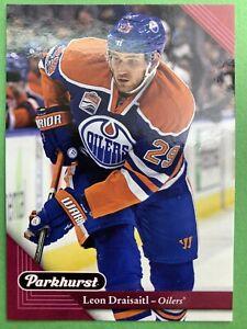 2017-18 Upper Deck Parkhurst Red Parallel #89 Leon Draisaitl Edmonton Oilers