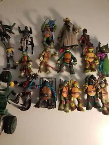 Teenage Mutant Ninja Turtles Tmnt 17 Lot De Figurines