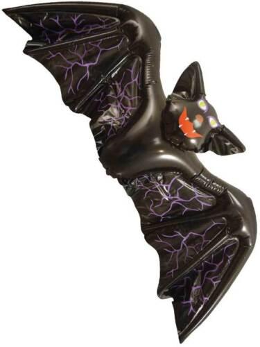 GRANDE 130cm Gonfiabile Nero Vampiro Pipistrello Halloween decorazione Prop Festa enorme BN