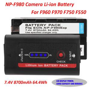 8700mAh-7-4V-Rechargeable-Li-ion-Battery-For-NP-F980-F960-F970-F750-F550-CS-F930