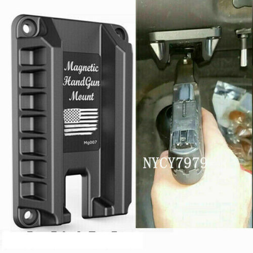 Invisible Gun Magnet Mount Quick Draw Loaded Concealed Gun Holder Holster