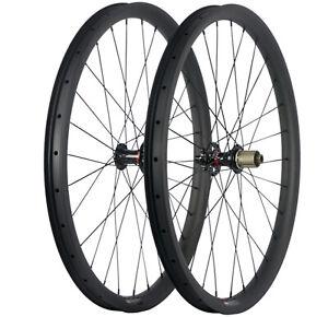 MTB-Bike-Carbon-Wheels-27-5ER-35mm-Width-Tubeless-Wheelset-AM-Mountain-Bicycle