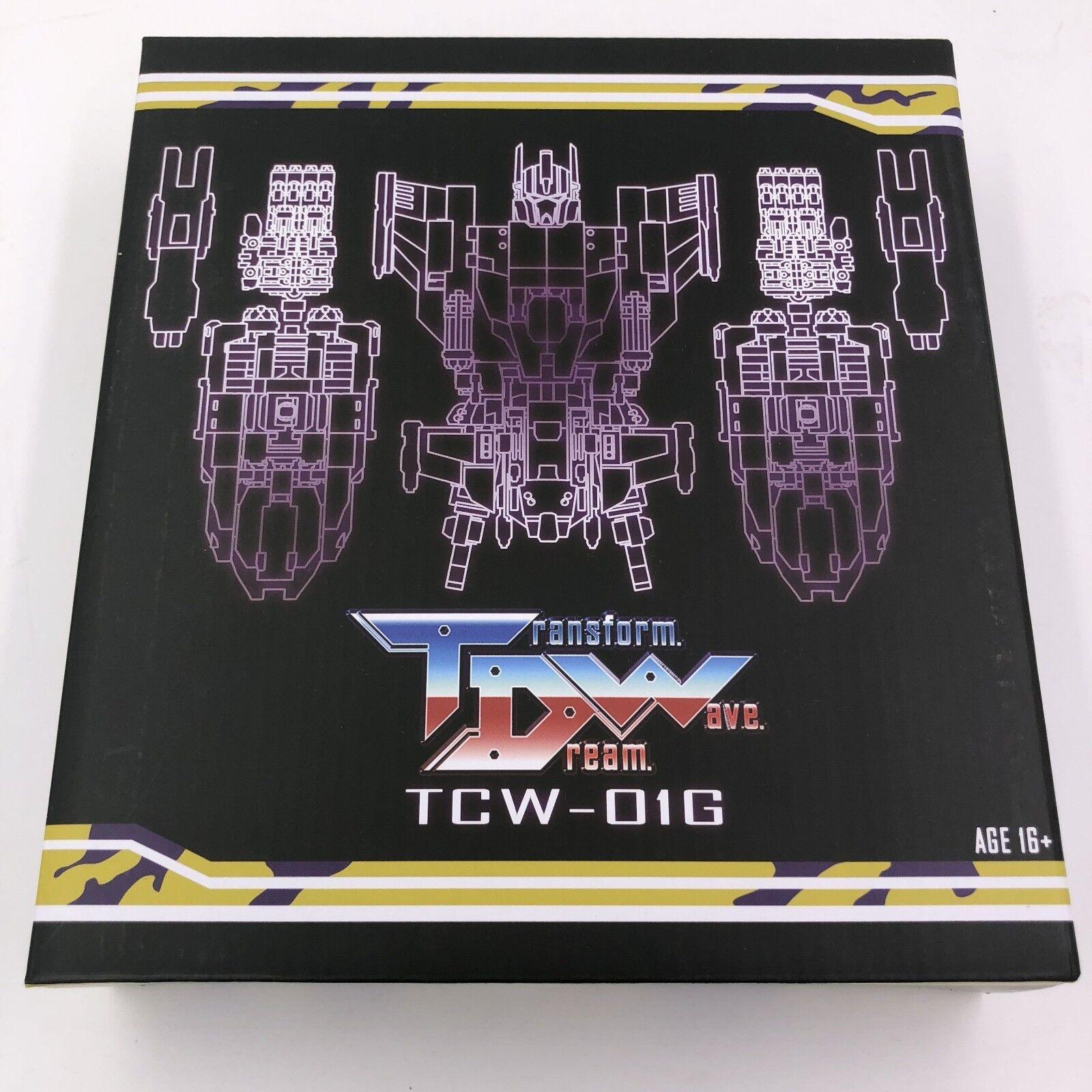 precio al por mayor Transforme Dream Wave TCW-01G TCW-01G TCW-01G G2 Kit De Bruticus adicional,  en Stock   marca famosa