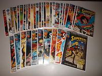 Action Comics #686-719 VF/NM  (Full Lot of 34)  Superman Comic Books   run 700
