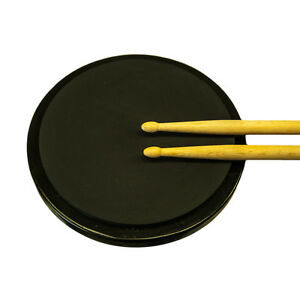 SKY-8-Inch-Silent-Drum-Practice-Pad-Round-Black-Color-by-Sky