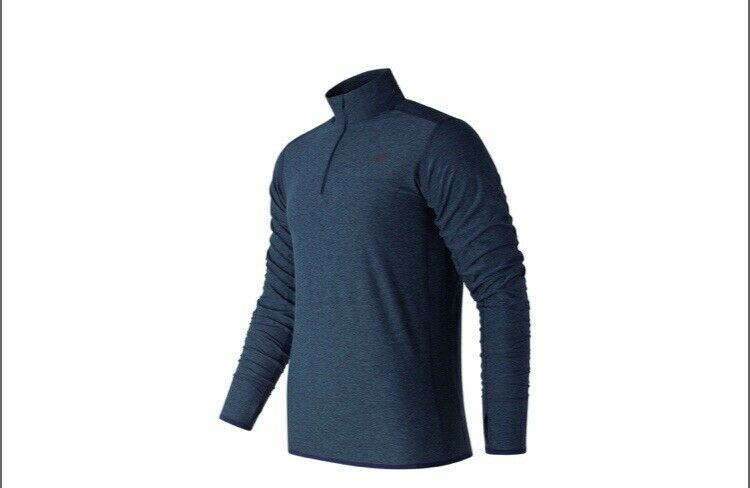 New Balance N TRANSIT  QUARTER ZIP (MT53030 PGM) RUNNING TOP SIZE UK MEDIUM  reasonable price