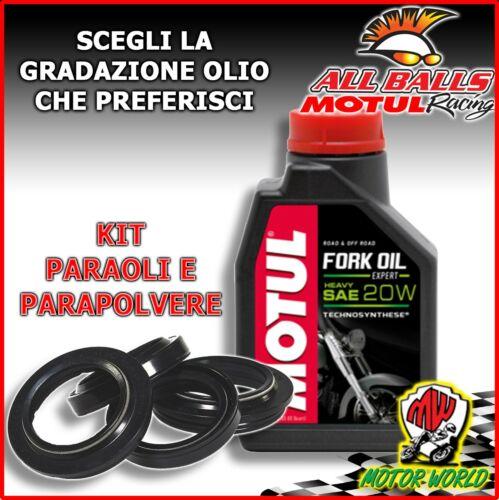 KIT REVISIONE FORCELLA PARAOLI PARAPOLVERE OLIO Kawasaki KLE 500 2003 2004 2005