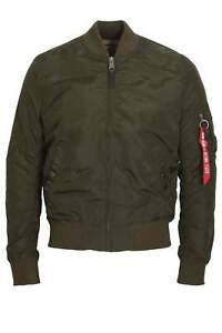 Details about ALPHA INDUSTRIES MA 1 TT Bomber Jacket | Rep Grey