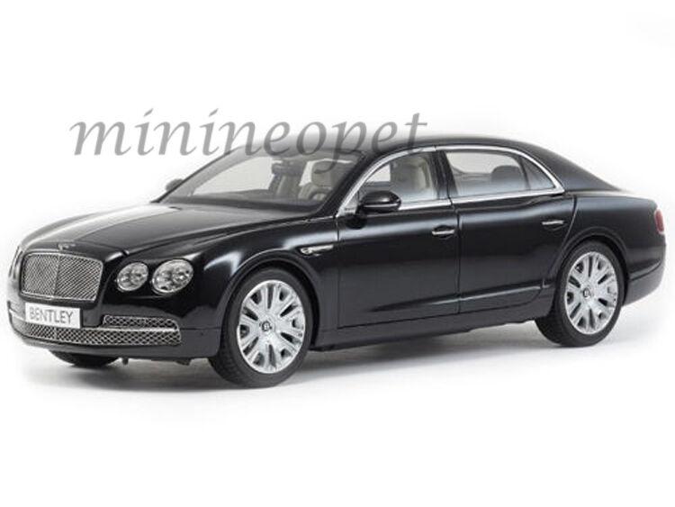 Kyosho 08891  NX Bentley en volant Spur W12 1 18 Diecast Onyx Noir  magasin d'usine