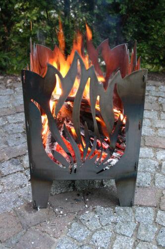Colonne de feu//un panier brasero flamme taille xxl en acier de svenskav Nouveau//OVP