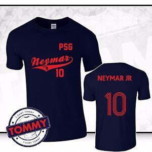 purchase cheap f632b b24d0 Details about PSG Neymar Jr #10 T-Shirt Paris Neymar Brazil T-Shirt