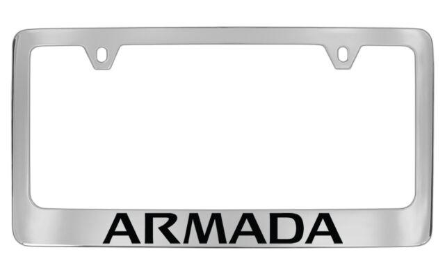 Nissan Armada Chrome Plated Metal License Plate Frame Holder | eBay