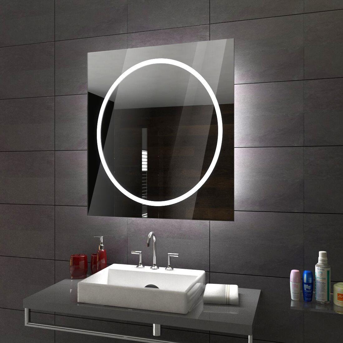 Athen éclairé del Miroir salle de Bain Led personnalisé taille versions